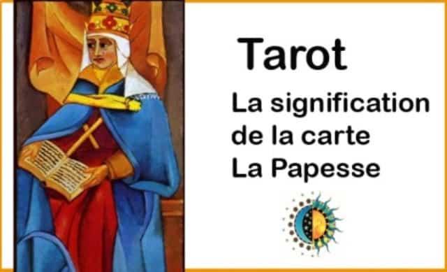 Que signifie la carte de la Papesse?