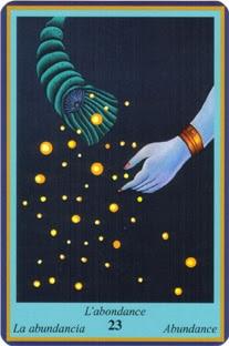 Oracle Bleu- carte l'abondance