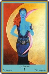 Oracle Bleu- carte la femme