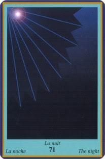 Oracle Bleu- carte la nuit