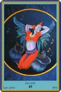 Oracle Bleu- carte les arts