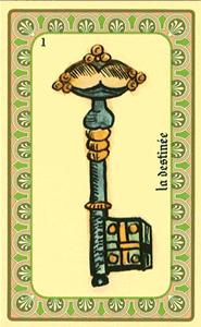 Oracle de Belline: la carte La Destinée