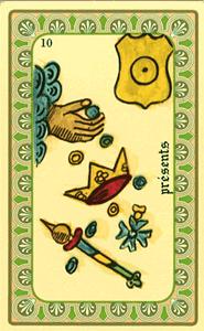 Oracle de Belline: la carte Présents