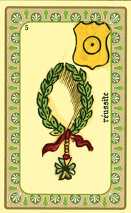 Oracle de Belline - Carte La Réussite