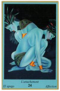 Oracle bleu: la carte L'Attachement