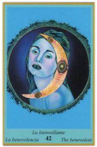 Oracle bleu: la carte La Bienveillante