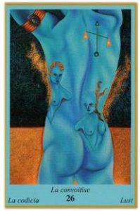 Oracle bleu: la carte La Convoitise