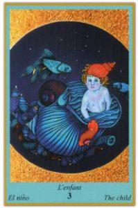 Oracle bleu: la carte l'enfant