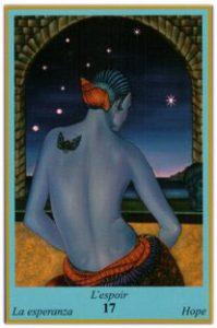 Oracle bleu: la carte L'Espoir