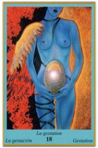 Oracle bleu: la carte La Gestation