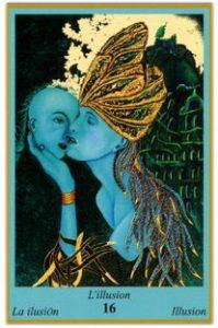 Oracle bleu: la carte L'Illusion