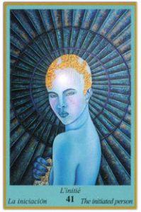 Oracle bleu: la carte L'Initié