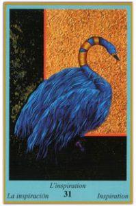 Oracle bleu: la carte L'inspiration