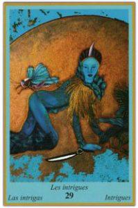Oracle bleu: la carte Les Intrigues