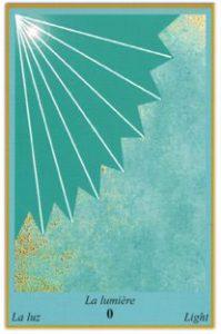 Oracle bleu: la carte la Lumière