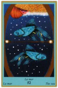 Oracle bleu: la carte La Mer