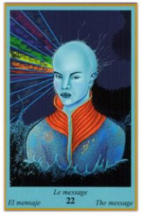 Oracle Bleu - Carte Le Message