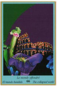 Oracle bleu: la carte Le Monde Effondré