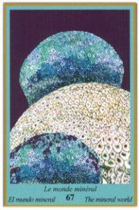 Oracle bleu: la carte Le Monde Minéral