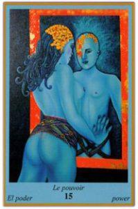 Oracle bleu: la carte Le Pouvoir