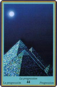 Oracle bleu: la carte La Progression