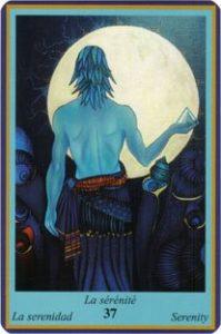 Oracle bleu: la carte La Sérénité