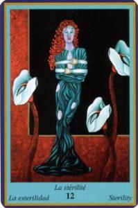 Oracle bleu: la carte La Stérilité