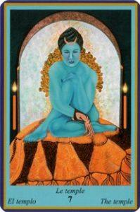 Oracle Bleu - Carte Le Temple