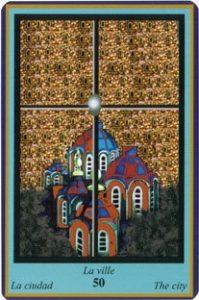 Oracle bleu: la carte La Ville