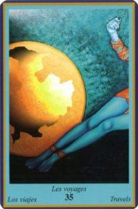 Oracle bleu: la carte Les Voyages