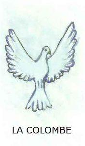 Oracle chance: la carte La colombe