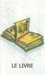 Oracle chance: la carte le livre ouvert