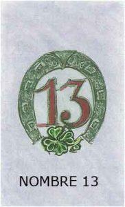 Oracle chance: la carte le nombre 13
