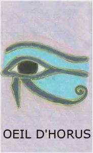 Oracle chance: la carte l'oeil d'Horus