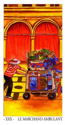 L'oracle de Venise: le marchand ambulant