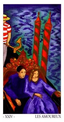 L'oracle de Venise: les amoureux