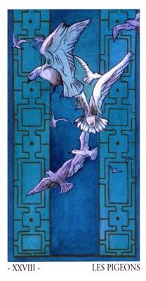 L'oracle de Venise: les pigeons