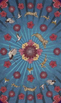 Tarot animal Totem dos des cartes