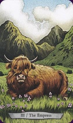 Tarot animal Totem carte l'Impératrice