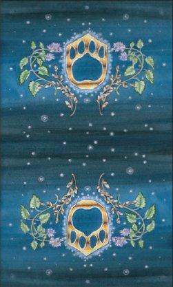 Tarot des chats mystiques: dos des cartes