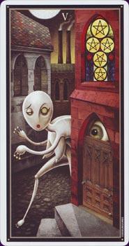 Tarot Deviant Moon : carte 3