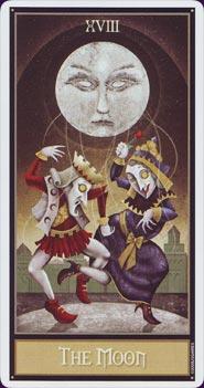 Tarot Deviant Moon : carte la Lune