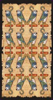 Tarot Égyptien dos des cartes