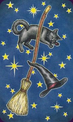 Tarot Histoire de Sorcières dos des cartes
