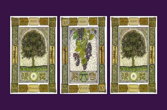 Tirage en ligne de l'oracle celte des arbres