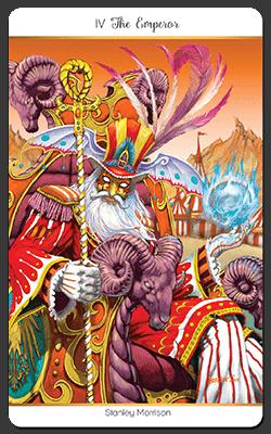 Le 78 tarot Carnival de Stanley Morrison
