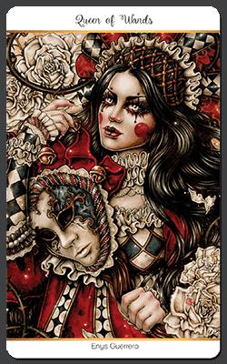 Le 78 tarot Carnival de Enys Guerrero