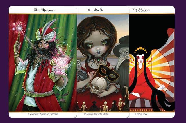 Présentation du 78 Tarot Carnival