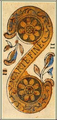 Anciens tarots Bolognais carte fine
