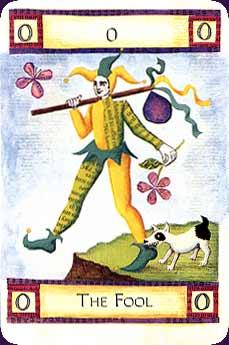 Art of Tarot carte le Mat